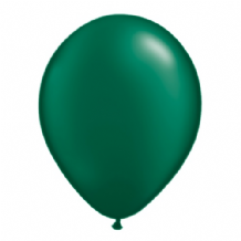 "Qualatex 11 inch Balloons - Pearl Forest Green 11"" Balloons (Radiant 100pcs)"